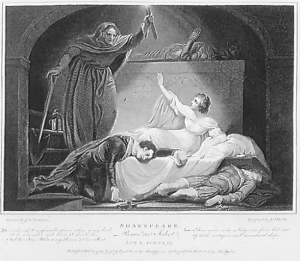 Romeo and Juliet lends itself well to discussing the effects of youthful decisions on teens, as the main characters experience the ultimate in effects.    Attribution: By engraving by James Heath (1757–1834) after painting by James Northcote (1746–1831) [Public domain], via Wikimedia Commons