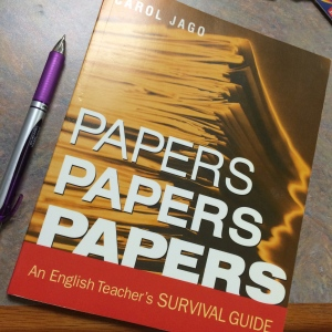 Carol Jago writes about challenges all English teachers can understand: grading, giving feedback and helping students to improve their writing while also having a life beyond the stack of essays we all carry in our bags and on our minds every day.