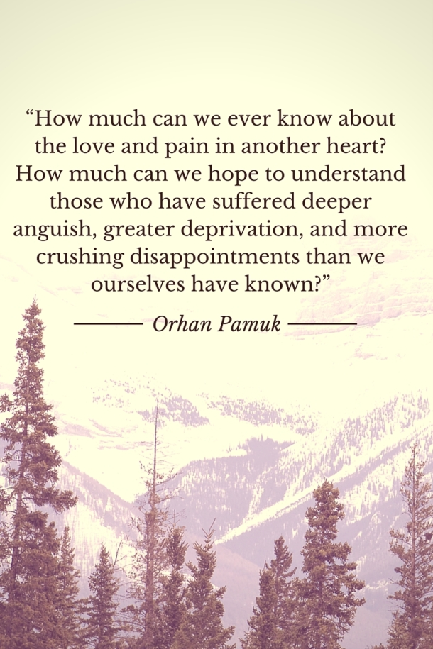 Pamuk Quote