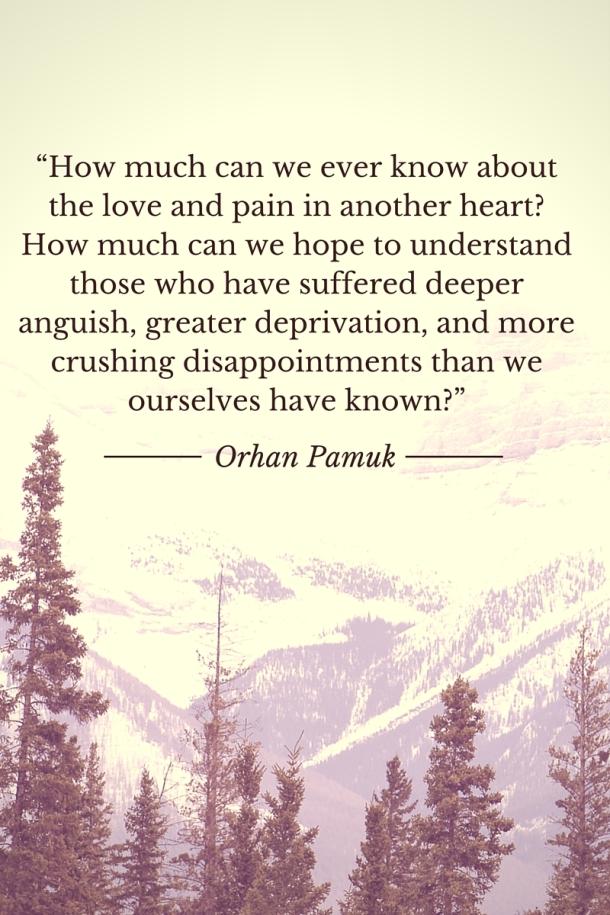 Pamuk Quote